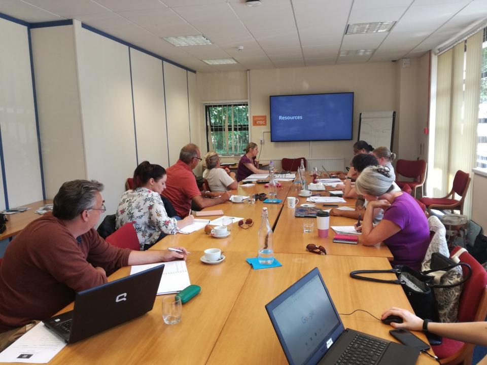 Social Media and Digital Training
