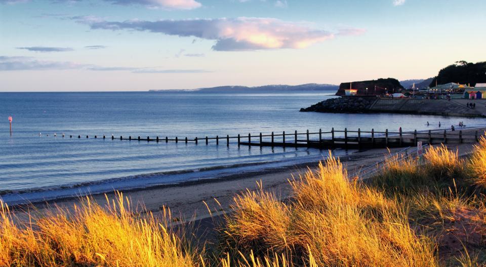 Scenery overlooking Dawlish with sea view - Devon