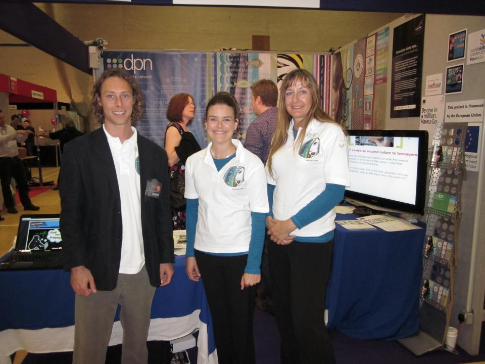 DPN promoting Digital Apprenticeships at Cape Cornwall School careers fair